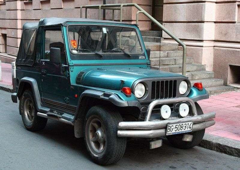 Asia Rocsta 1st generation SUV 1.8 MT (1993–1997)