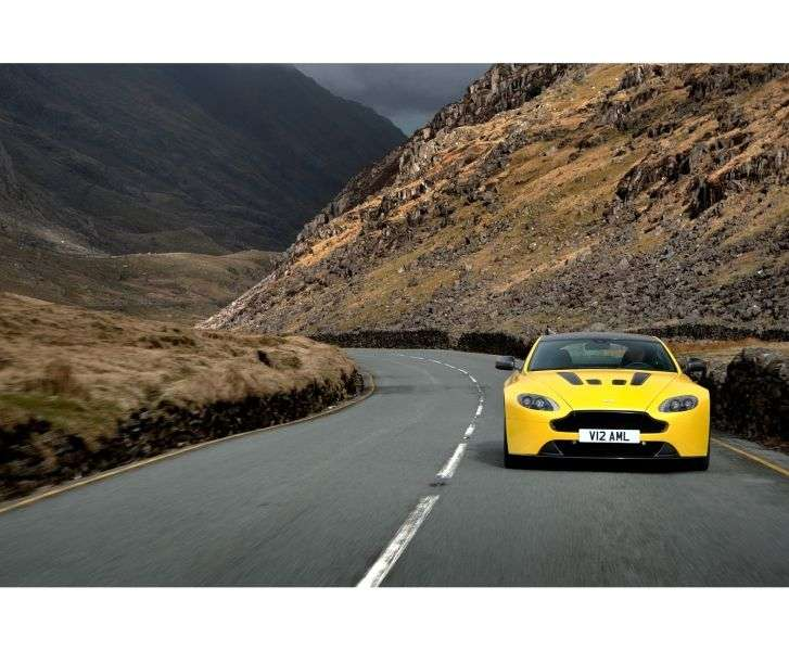 Aston Martin Vantage 3rd generation [2nd restyling] V12 S Coupe 2 dv. 5.9 V12 AT (2013 – present)