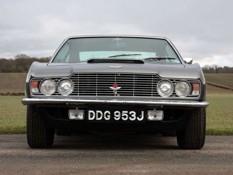 Aston Martin DBS 1st generation coupe 5.3 V8 MT (1970–1972)