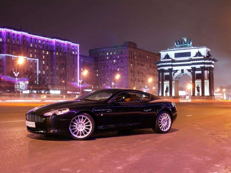 Aston Martin DB9 1st generation coupe 5.9 AT (2004–2008)