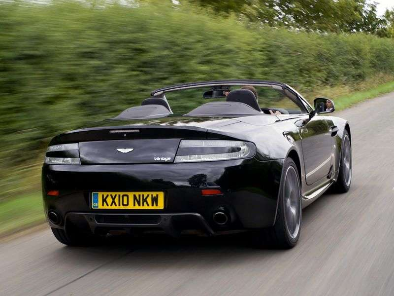 Aston Martin Vantage 3 generation [restyling] V8 N420 roadster 2 dv. 4.7 V8 MT Basic (2010–2010)