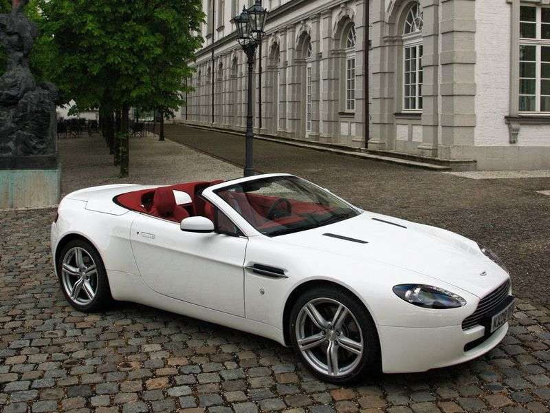 Aston Martin Vantage 3 generation [restyling] V8 roadster 2 bit. 4.7 V8 MT Basic (2008–2012)