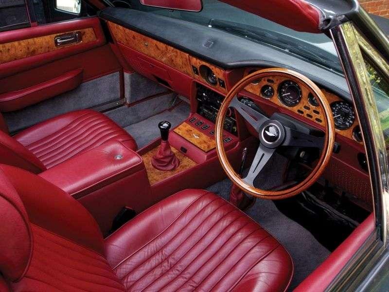 """Aston Martin Vantage """"V8 Volante pierwszej generacji"""" """"Prince of Wales"""" """"2 drzwiowy kabriolet"""" 5,3 V8 MT (1986 1989)"""