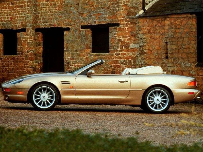 Aston Martin DB7 Volantecabrio 5.9 AT (1999–2003)