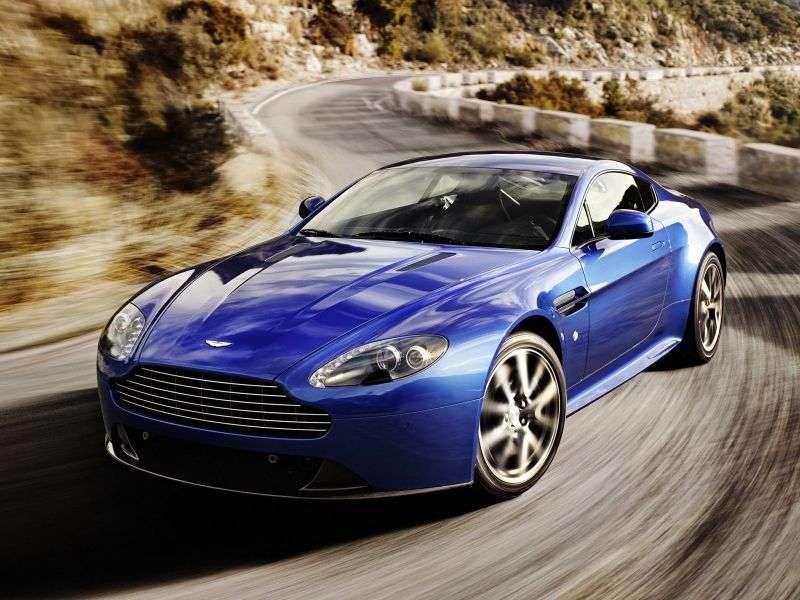 Aston Martin Vantage 3 generation [restyling] V8 N420 coupe 2 dv. 4.7 V8 Sportshift Basic (2010–2010)