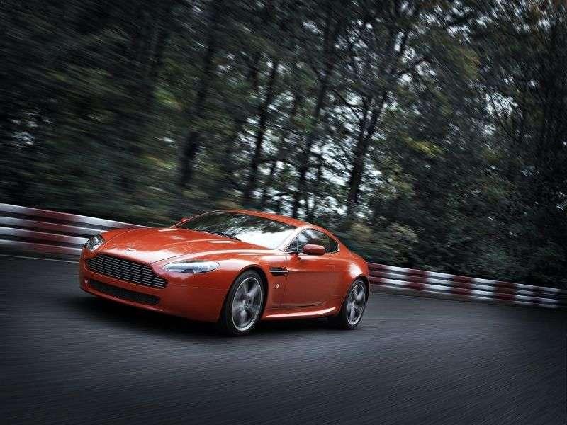 Aston Martin Vantage 3 generacja V8 N400 coupe 4.3 V8 Sportshift (2007 2008)