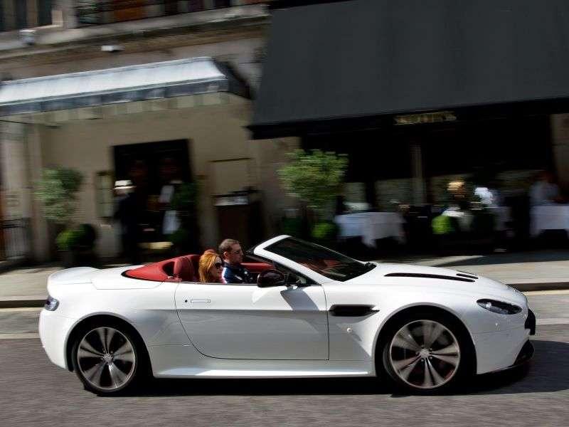 Aston Martin Vantage 3rd generation [restyling] V12 roadster 2 bit 5.9 MT (2009–2013)