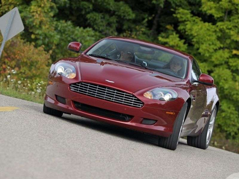 Aston Martin DB9 1st generation [restyling] coupe 5.9 V12 AT Basic (2008 – current century)