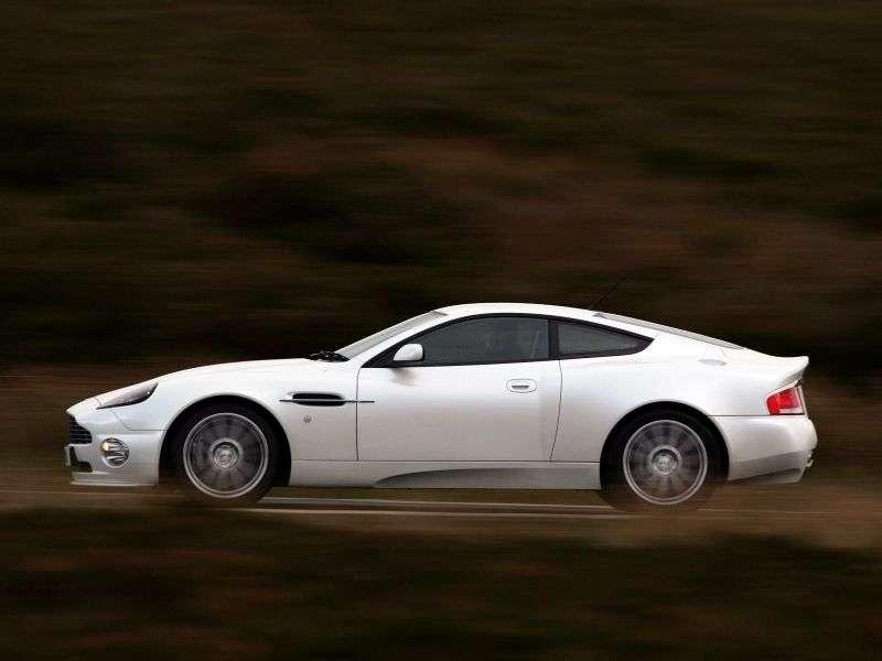 Aston Martin Vanquish 1st generation S coupe 5.9 Sportshift (2004–2007)