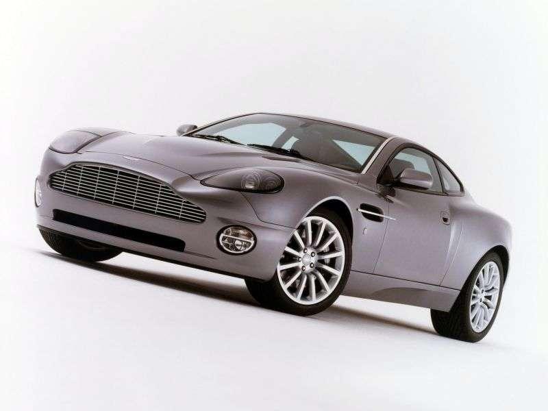 Aston Martin Vanquish 2 drzwiowe V12 coupe pierwszej generacji 5.9 Sportshift (2001 2005)