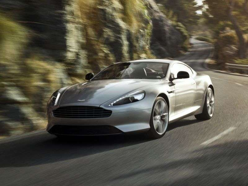 Aston Martin DB9 1st generation [2nd restyling] coupe 5.9 V12 AT Basic (2012 – n.)