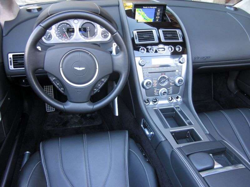 Aston Martin Virage 1st generation Volante Convertible 6.0 V12 AT Basic (2011 – present)