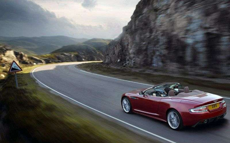Aston Martin DBS 2nd generation Volante Convertible 6.0 V12 MT Basic (2009 – present)