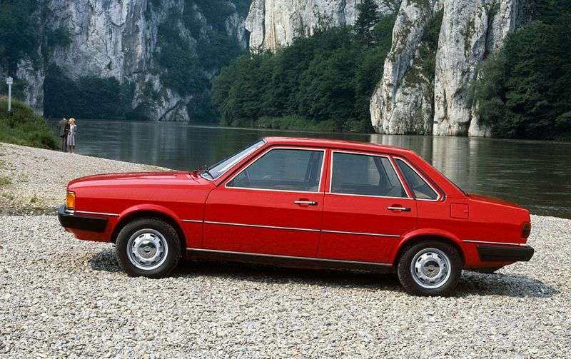 Audi 80 B2 sedan 4 doors 2.0 quattro MT (1983–1984)