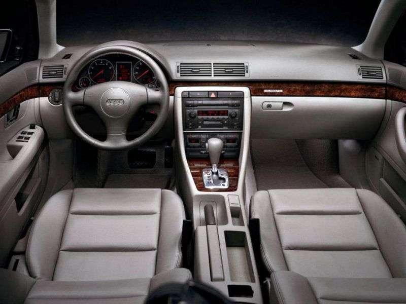 Audi A4 B6 Universal 2.5 TDI CVТ (2001–2004)