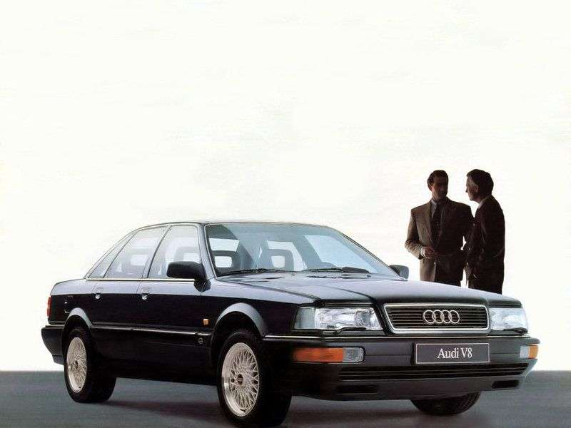 Audi V8 (D11) 1st generation sedan 4.2 quattro MT (1988–1994)