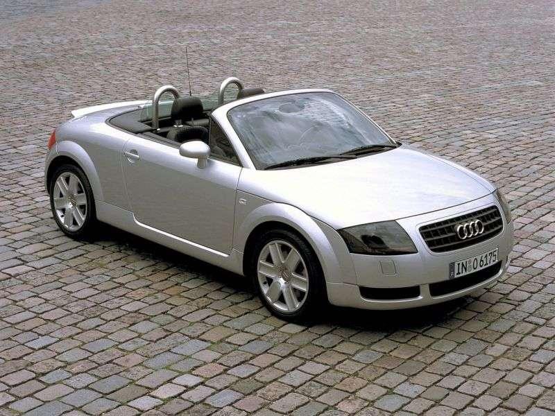 Audi TT 8Nrodster 1.8 T quattro MT (2000–2003)