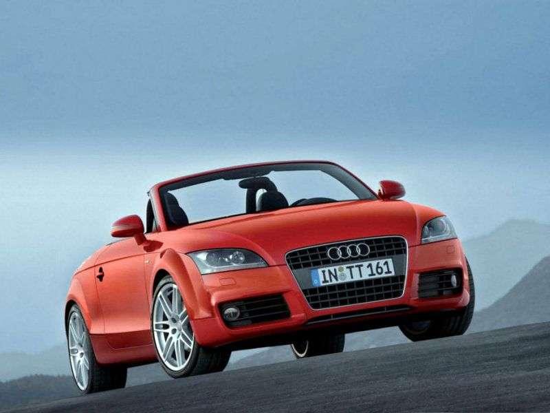 Audi TT 8Jrodster 2 bit 1.8 T quattro MT (2006–2010)