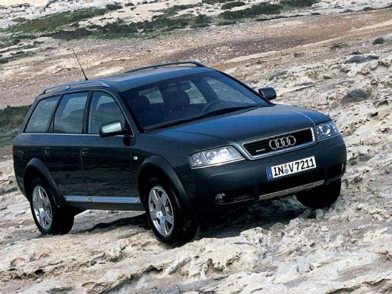 Audi Allroad 4B, C5 Kombi 2.7 T quattro AT (2000 2005)