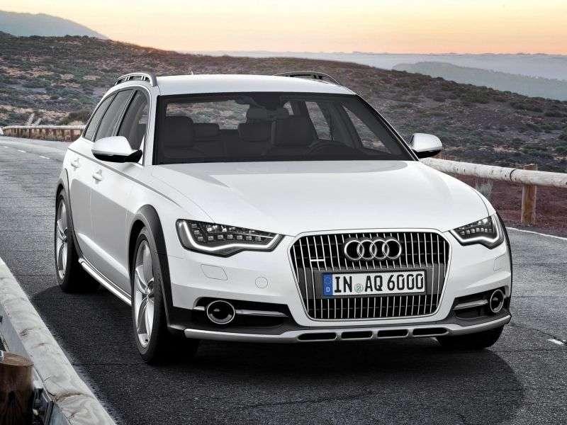 Audi A6 C7allroad quattro wagon 5 bit. 3.0 TFSI quattro S tronic Basic (2012 – present)