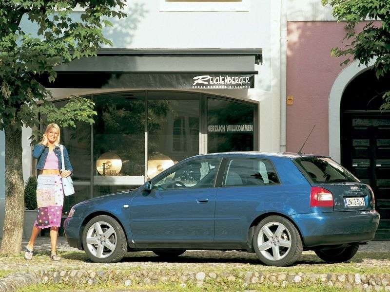 Audi A3 8L [restyling] 1.6 AT hatchback (2002–2003)