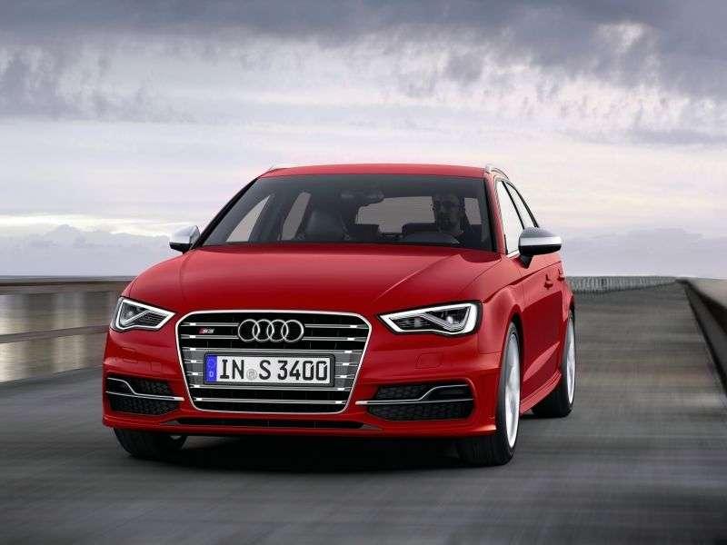 Audi S3 8VSportback hatchback 5 dv. 2.0 TFSI quattro S tronic Basic (2013 – current century)