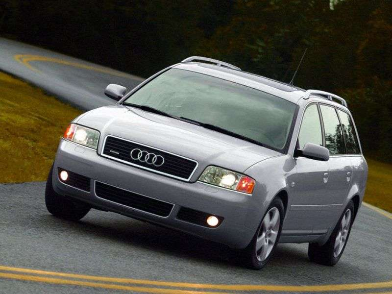 Audi A6 4B, C5 [restyling] wagon 2.7 T quattro AT (2001–2004)