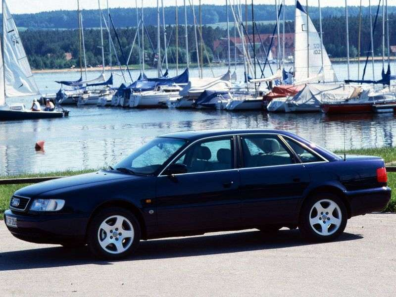Audi A6 A4, C4 sedan 2.8 MT (1995 1997)