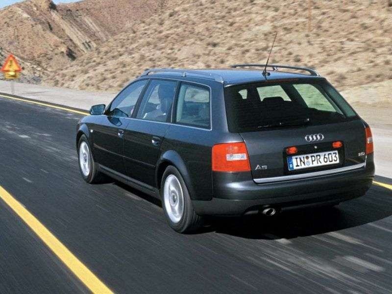Audi A6 4B, C5 [restyling] station wagon 4.2 quattro AT (2001–2004)