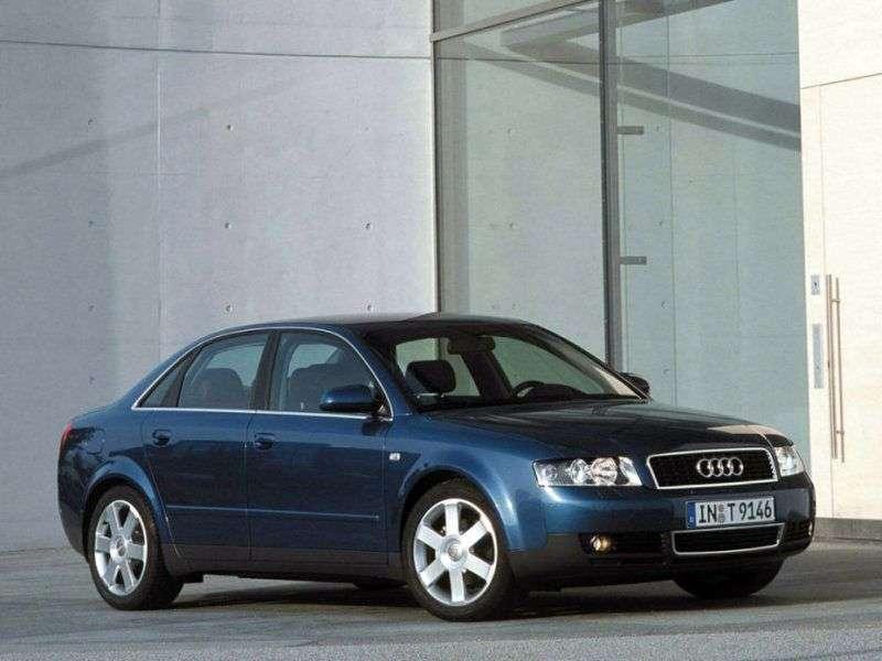 Audi A4 B6 sedan 1.8 T CVT (2001 2004)