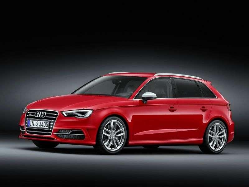 Audi S3 8VSportback hatchback 5 dv. 2.0 TFSI quattro MT Basic (2013 – current century)