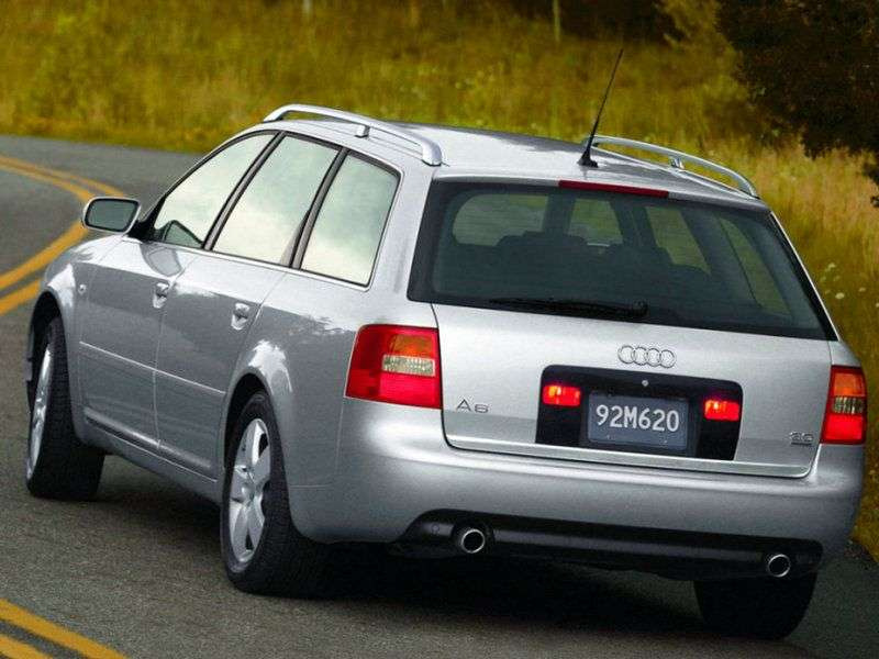 Audi A6 4B, C5 [restyling] 2.5 TDI MT station wagon (2002–2004)