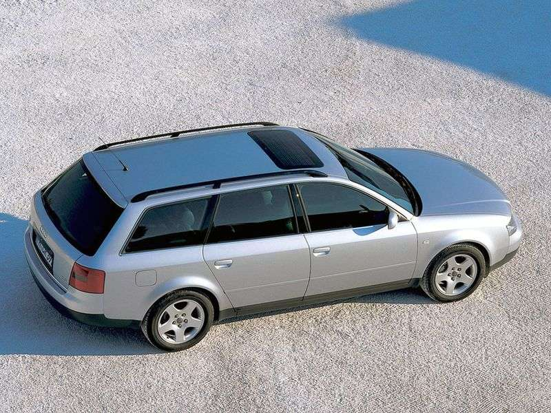 Audi A6 4B, C5 kombi 2.5 TDI AT (2000 2001)