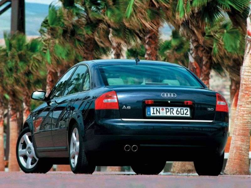 Audi A6 4B, C5 [restyling] 2.5 TDI sedan quattro AT (2001–2004)