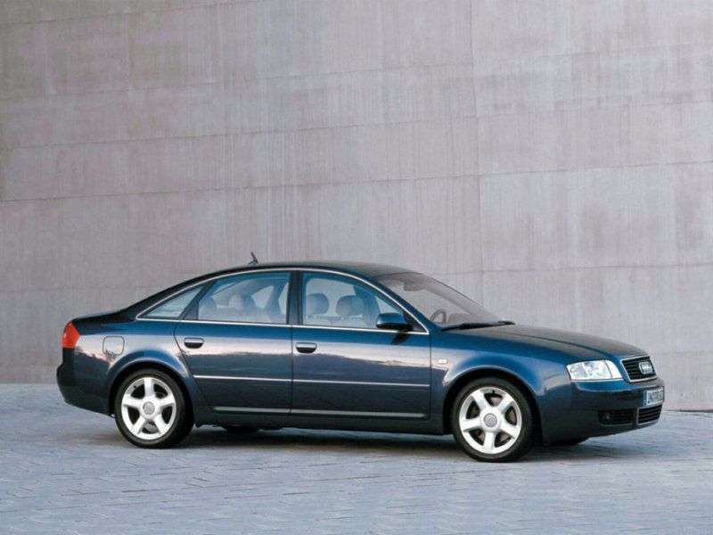 Audi A6 4B, C5 [restyling] 2.4 quattro sedan AT (2001–2004)