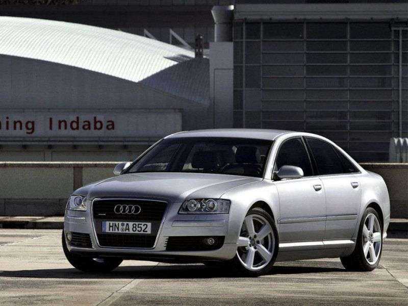 Audi A8 D3 / 4E [restyling] 2.8 FSI multitronic sedan (2007–2009)