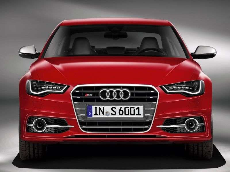Audi S6 C7 sedan 4.0 TFSI quattro S tronic Baza (2011 2012)