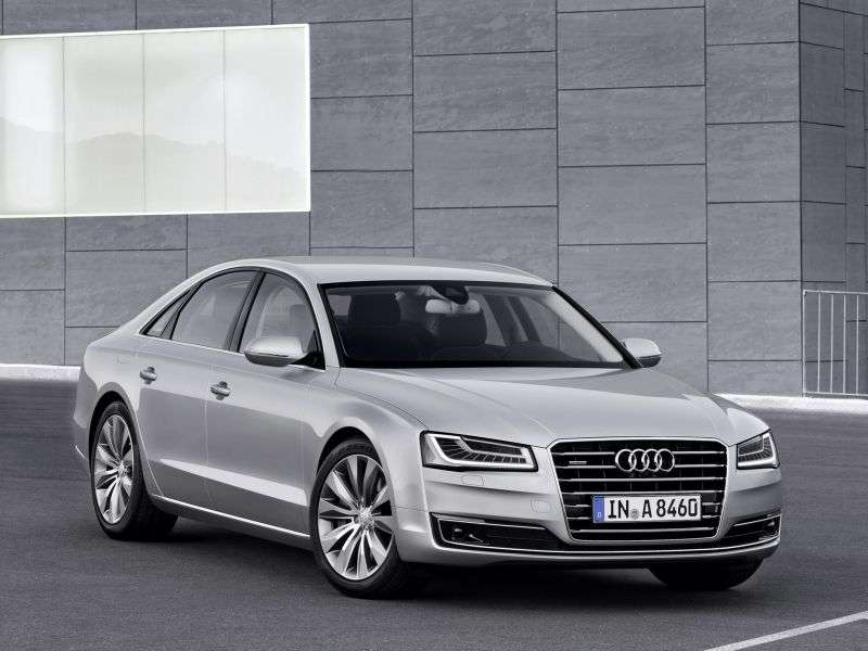 Audi A8 D4 / 4H [restyling] 3.0 TFSI Sedan Quattro Tiptronic sedan (2013 – n.)