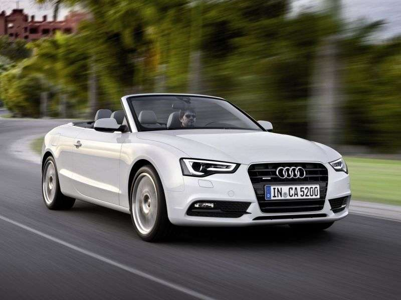 Audi A5 1st generation [restyling] 2.0 TFSI multitronic convertible Basic (2013 – v.)