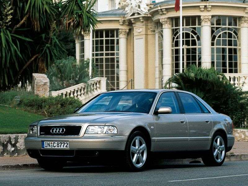 Audi A8 D2 / 4D [restyling] 4 door sedan. 3.7 AT (1999–2002)