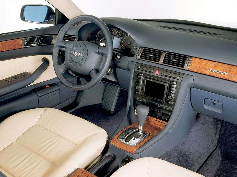 Audi A6 4B, C5 Allroad quattro station wagon 4.2 quattro AT (2000–2005)