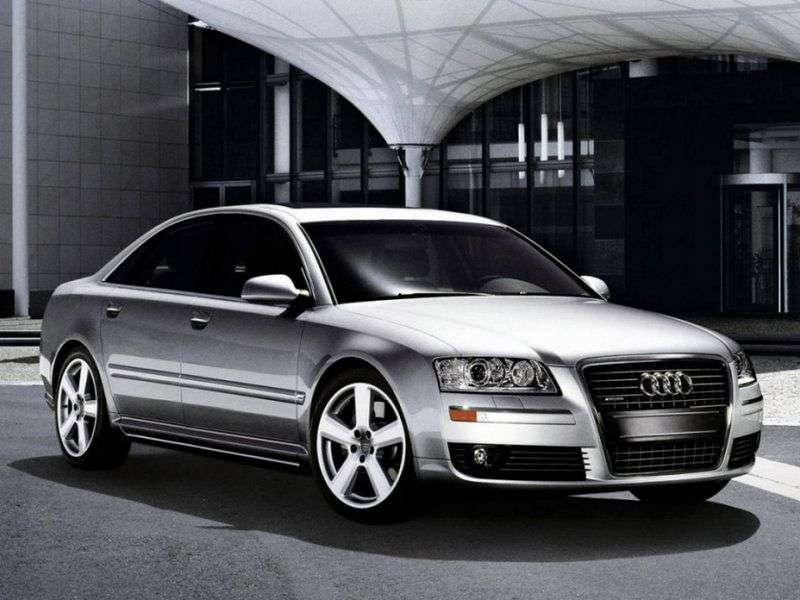 Audi A8 D3 / 4E [restyling] 4.2 L FSI quattro AT sedan (2007–2009)