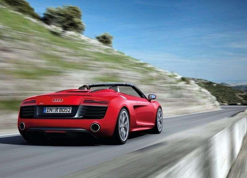 Audi R8 1st generation [restyling] Spyder 5.2 V10 MT convertible (2012 – n.)