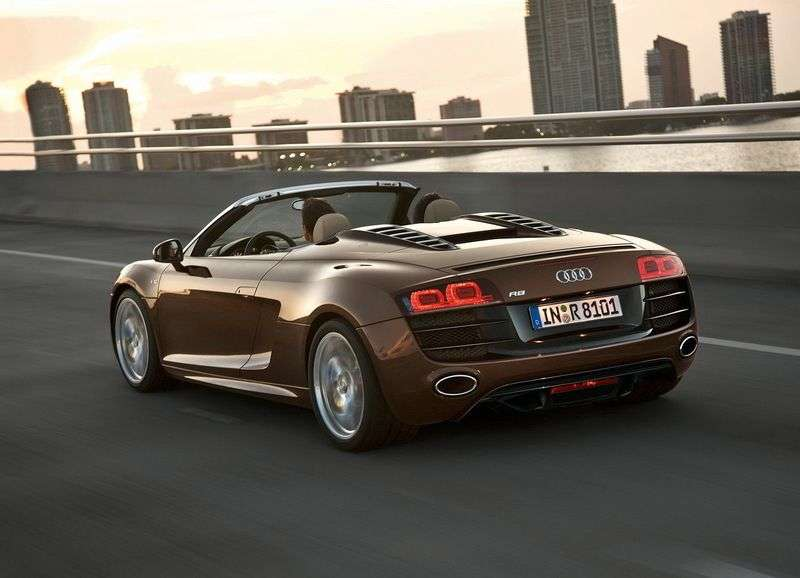 Audi R8 1st generation Spyder convertible 2 dv. 5.2 FSI quattro MT Basic (2010–2012)