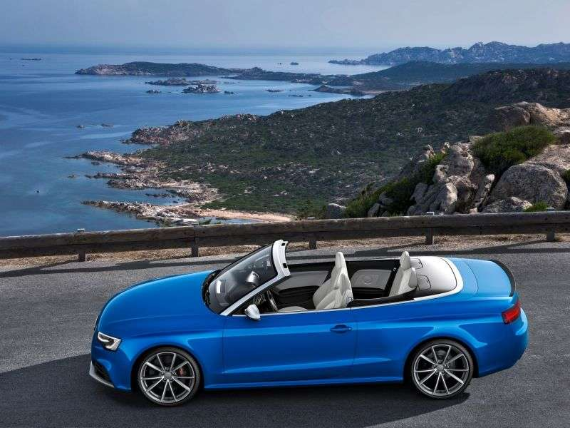 Audi RS5 1st generation [restyled] convertible 4.2 FSI quattro S tronic Basic (2012 – N)