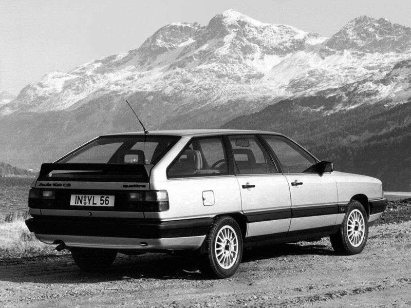 Audi 100 44, 44Q, C3Avant wagon 1.8 MT (1986–1990)