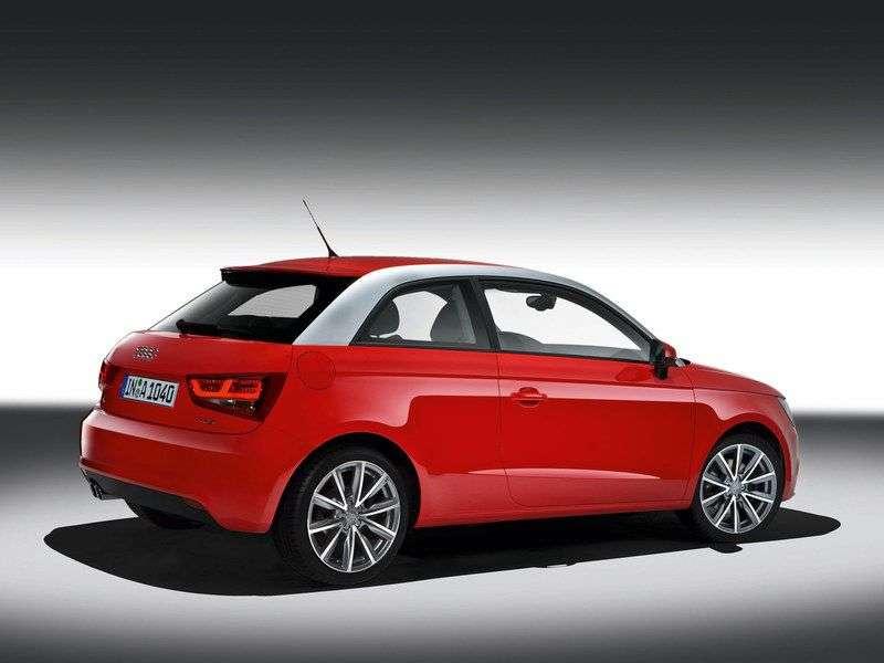 Audi A1 1st generation hatchback 3 dv. 1.4 TFSI S tronic Attraction (2010 – n.)