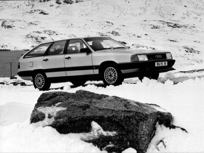 Audi 100 44, 44Q, C3Avant wagon 2.4 D MT (1989–1990)