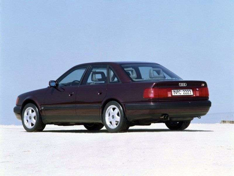 Audi 100 4A, C4 sedan 2.8 E AT (1990 1994)