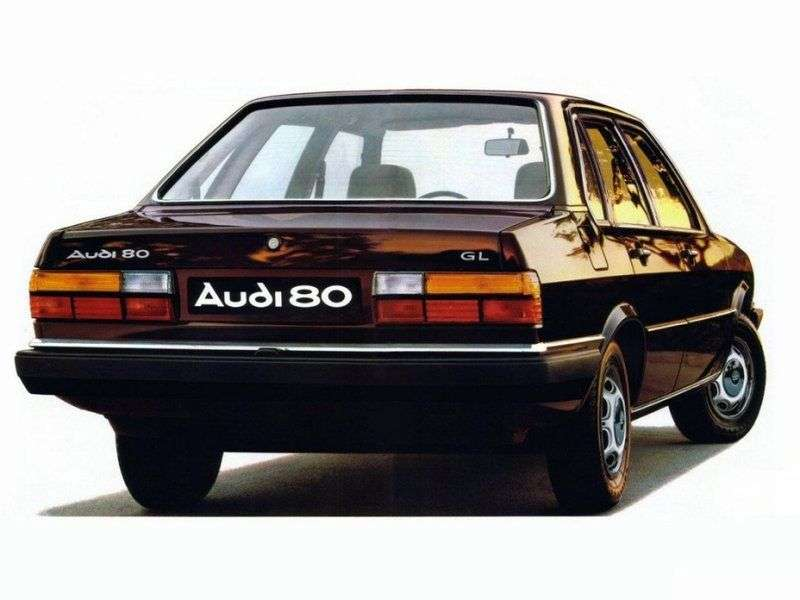 Audi 80 B2 sedan 4 doors 2.2 MT quattro (1982–1984)